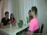 YoungSexParties - Alina Kira Fucking Welcome To Group Sex