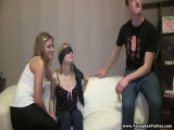 YoungSexParties - Luda Ira From Blindfolded Bj To Foursome Orgy