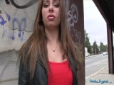 PublicAgent - Ally Breelsen - Hot Russian loves fucking in public
