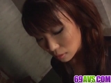 Mind blowing blowjob scenes along  Saya Natsukawa