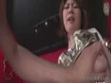Rio Kagawas furry pussy banged by a horny guy until she springs her wet juice