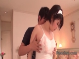 Sexy Harua Narimiya intense nudity and sex at home