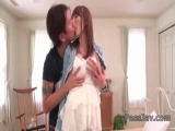 Yui Hatano sure loves the dick in her tiny vagina