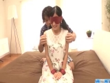Suzu Ichinose gets male to fuck her while playing obedient