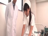 Asian nurse, Yu Shinohara, pleases patient with blowjob