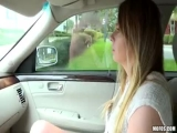 Alex Blake - Natural Teen Fucks For A Ride