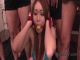 Lovely Yayoi Orikasa gets pleased with a vibrator