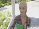 Babes - Black is Better - Please me starring Elsa Jean and M