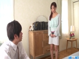 Chihiro Akino takes down undies for man´s big cock - More at javhd.net