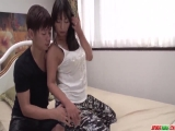 Busty Ryoko Murakami spins dick in each of her tight holes - More at Japanesemamas.com