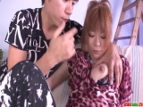 Wife Junna Hara leaves young lad to fuck her pussy - More at Japanesemamas.com