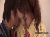 Sakura Hirota  and her guy touching and fucking