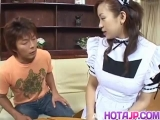 Fantastic maid porn in amateur video with Marin Hoshino - More at hotajp.com