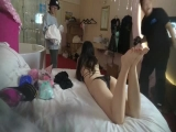 Chinese Backstage Hotel Room Candid Cam 12 -