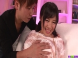 Miyuki Nonomura feels entire cock in her tiny holes - More at 69avs.com