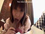 Fabulous Japanese model Hiromi in Incredible JAV uncensored Blowjob video