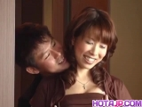 Big tits wife, Shizuku Natsukawa, receives a good fuck - More at hotajp.com