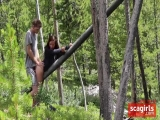 Hot Couple Fucking In The Wilds