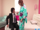 Miu Tsukino reaches orgasm with two men fucking her - More at javhd.net