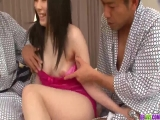 Merciless pussy and ass group XXX for amateur Hina Maeda - More at 69avs.com