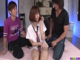 Sexual passion in Asian hardcore for teen Tiara Ayase - More at 69avs.com